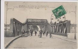 D18 - VIERZON - LE NOUVEAU PONT DE LA ROUTE DE PARIS - LE PONT METALLIQUE ...  - état Voir Descriptif - Vierzon