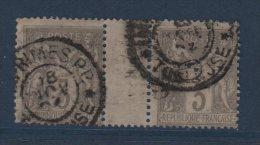Toulouse - Imprimes - PP - Type Sage - 1877-1920: Periodo Semi Moderno