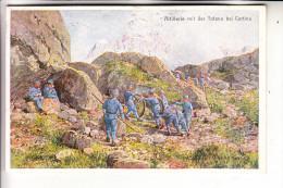 I 32043 CORTINA D'AMPEZZO, 1.Weltkrieg, Artillerie Mit Der Tofana, 1916 - Otras Ciudades