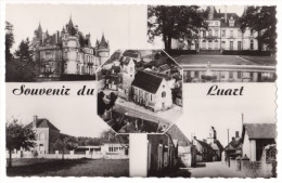 CPSM PF 72 - LE LUART - VUES MULTIPLES - SARTHE - France