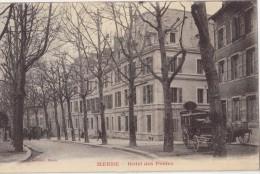 CPA - MENDE (48) - Hôtel Des Postes - Mende
