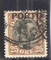 Dinamarca-Denmark Yvert Nº Tasa-6 (usado) (o) - Port Dû (Taxe)