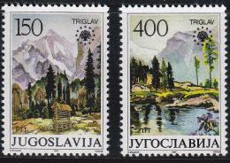 Yugoslavia 1987 Set Of 2, Tourism Landscapes  1835 - Ungebraucht