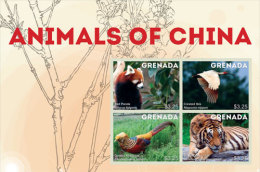 GRENADA  3948 ; IGPC 1342 SH  ; MINT N.H STAMPS ( ANIMALS OF CHINA - Grenada (1974-...)