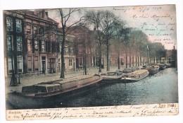 Bierkade - Den Haag - 1904, Uitg. Hollandia Amsterdam - 2 Scans - Den Haag ('s-Gravenhage)