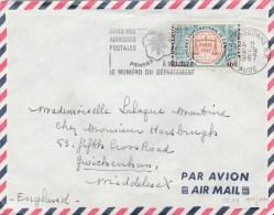 CONGRES COMPTA YT 1529 SUR ENV AVION CARCASSONNE 4/9/67 /1ER JOUR POUR L ANGLETERRE  TDA35 - 1961-....