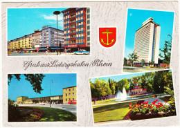 Ludwigshafen: FORD TAUNUS 17M P2 'BAROCKENGEL' - Bahnhof, BASF-Hochhaus, Ebertpark & Ludwigstraße -  (D) - Turismo