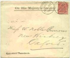 Lettre De Mombasa - Afrique Orientale Britannique
