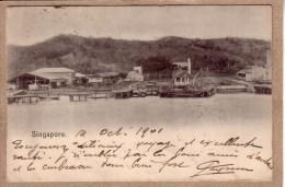 SINGAPOUR - SINGAPORE - VUE - éditeur ? - Avant 1904. - Singapour