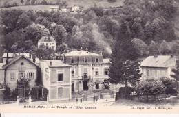 39 - Morez - Le  Temple Et L 'hotel Central - Morez