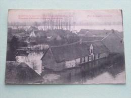 Overstroomingen Van Maart 1906 Panorama MOERZEKE ( L Lagaert ) Anno 19?? ( Géén Acherzijde / Zie Foto Voor Details ) - Hamme