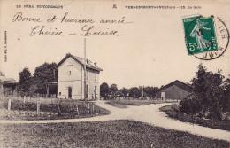 39 - Vers En Montagne - La  Gare - Autres Communes
