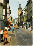 Heidelberg: RENAULT 10 - Straßenszene, 'Henninger Bier' Neon  -   (D) - Turismo