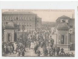Herstal - Sortie Du Personnel Des Ateliers De La Fabrique Nationale D´Armes  De Guerre Feldpost  9 Januari 1915 - Herstal