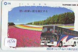 Télécarte Japon * BUS * Japan Phonecard * Auto * Car (1556) Voitures * Telefonkarte - Cars