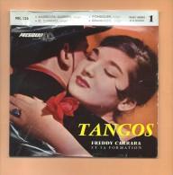 45 T PRESIDENT: Freddy Carrara, 4 Tangos - Musicals