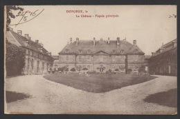 DF / 52 HAUTE-MARNE / DONJEUX / LE CHÂTEAU / CIRCULÉE EN 1916 - Sonstige Gemeinden