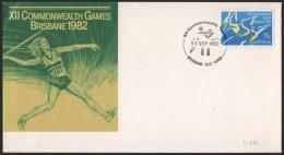 AUSTRALIA BRISBANE 1982 - XII COMMONWEALTH GAMES - WRESTLING - Lotta