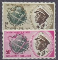Burundi 1962 Space 2v ** Mnh (18938) - 1962-69: Ongebruikt