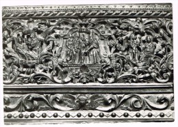 Y1256 Skopje - Detalj Od Rezbata V Crkva Sv. Spas - Wood Carving Detail Church St. Spas / Viaggiata 1970 - Macedonia