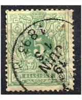 Belgique COB 45 ° - 1869-1888 Lion Couché