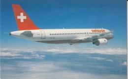 Swissair, Airbus A320, Unused Postcard [14888] - 1946-....: Moderne