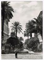 Y1262 Genova Nervi - Viale Delle Palme / Viaggiata 1956 - Genova (Genoa)