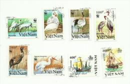 Vietnam N°1176 à 1180, 1182, 1184, 1188 Cote 2.35 Euros - Vietnam