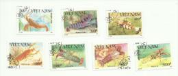 Vietnam N°1197 à 1203 Cote 2.25 Euros - Vietnam