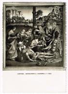 Y1274 Cortona (Arezzo) - Museo Diocesano - La Deposizione Di Luca Signorelli / Non Viaggiata - Paintings