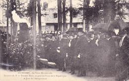 Guingamp - La Visite Ministérielle ( Petit Manque à Gauche + Déchirure De 1 Cm ) - Manifestations