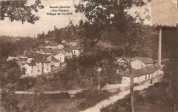 Cpa Village De Glane - Autres Communes