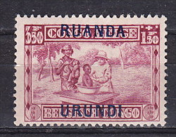 Ruanda Urundi  Cat: OBP/COB  nr 87     neuf charni�re- postfris plakker - MH   (X)