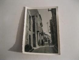 ENNA Una Via   Foto Numero 2 ( Originale 100 X 100 ) Fatta In  Un Viaggio Nel 1955 - Enna