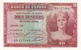 10 PTS. REPUBLICA 1935   SIN CIRCULAR - [ 2] 1931-1936 : République
