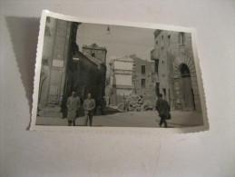 ENNA Una Via   Foto Numero 3 ( Originale 100 X 100 ) Fatta In  Un Viaggio Nel 1955 - Enna