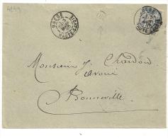 BOEGE Haute Savoie Sur Devant SAGE. - 1876-1898 Sage (Tipo II)