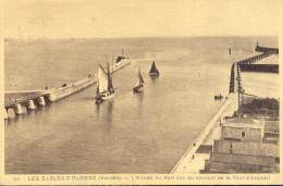 Les Sables D'Olonne L'entree Du Port    1937 - Other Municipalities