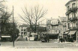 Belfort - Carrefour De L'avenue De La Gare Et Du Faubourg De France - Belfort - Ville