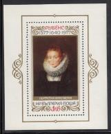 Bulgaria MNH Scott #2447 Souvenir Sheet 1l Portrait Of A Lady In Waiting - Peter Paul Rubens - Bulgarie