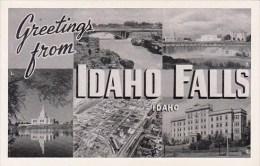 Greetings From Idaho Falls Idaho - Idaho Falls
