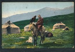 RUSSIE - SIBERIE - ALTAÏ - Kirghiz Avec Un Aigle Royal - Russia