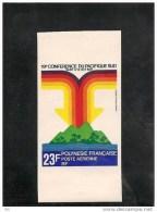 #Polynésie Scott C171 Yvert PA147 (1) Non Dentelé ** 1979 - Non Dentelés, épreuves & Variétés