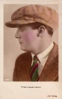 CINÉMA ANCIEN - ACTEUR : FRED LOUIS LERCH - CARTE ´VRAIE PHOTO´ COLORISÉE ~ 1920 - 1930 : IRIS VERLAG (r-247) - Acteurs