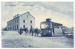 E4213 -  STRAINCHAMPS - h�tel de la gare  * tram *