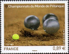France N° 4684 ** Championnats Du Monde De Pétanque - France