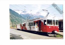 Suisse - (Valais) - MARTIGNY - Train TMR M-c - 2008 - - VD Vaud