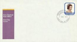 New Zealand 1977 Queen Elizabeth FDC - FDC