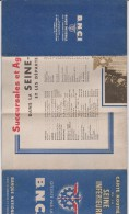 R :  Carte  Routière : Seine  Inférieur B N C I   ( Seine  Maritime ) - Roadmaps