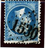 France 1862  (  N°22 Ob.GC  ´1530´  - LA FLOTTE -en- Ré  ) - 1849-1850 Ceres